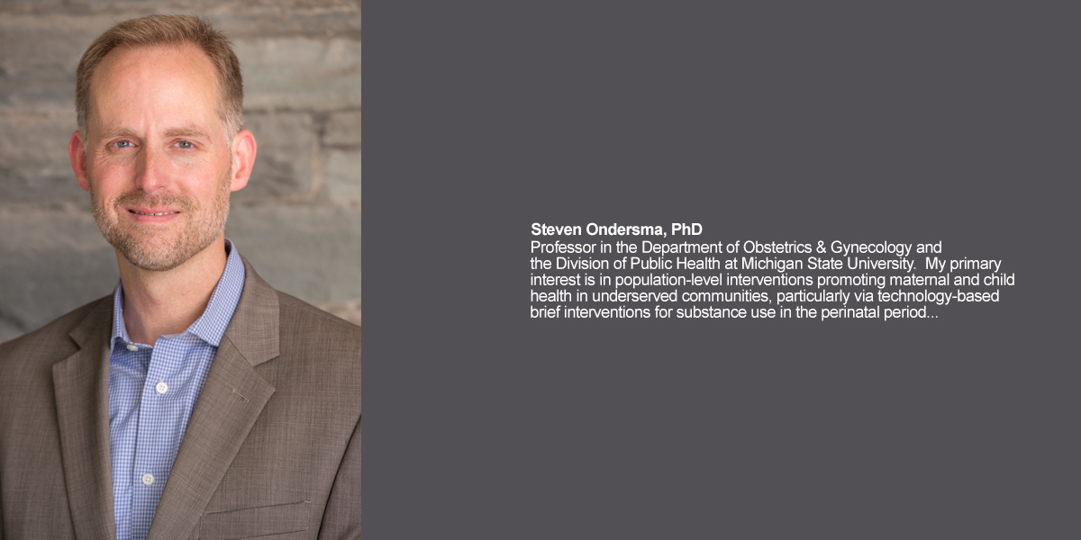 Steven Ondersma, PhD