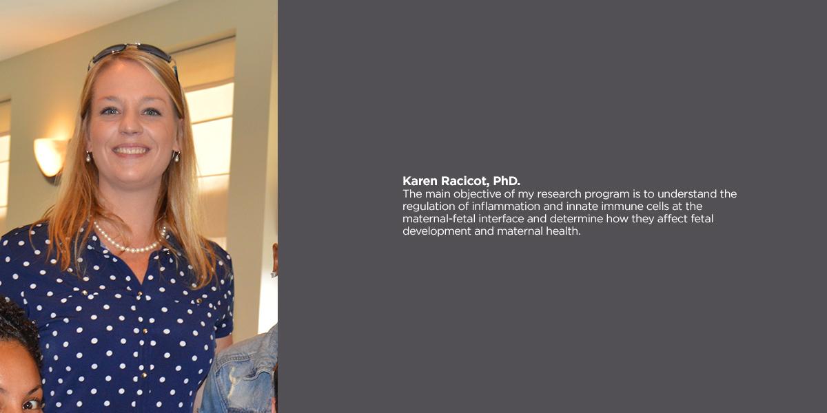 Karen Racicot, PhD.